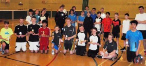 Junior Tournament winners and players nba